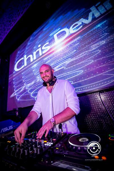 Cocoon Phuket DJ Chris Devlin 7.3.2017