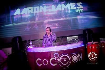 DJ Aron James & Elena Prel @ Cocoon Club