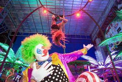 Crazy Horse Circus Promotion
