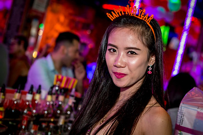 New Year 2017 - 2018 Crazy Horse Circus Bar
