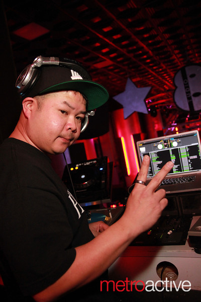 DJ Teddy Rockspin , images by CJ