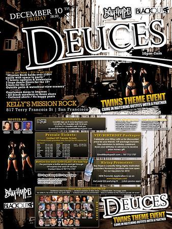 Deuces @ Mission Rock - 12.10.10