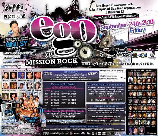 Ego @ Mission Rock - 9.24.10