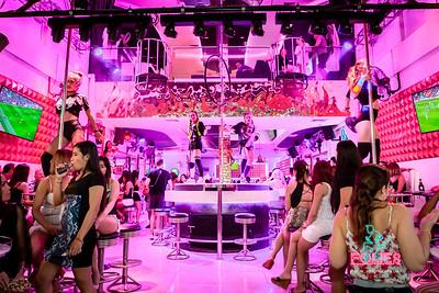 Folies Bar Saturday night party