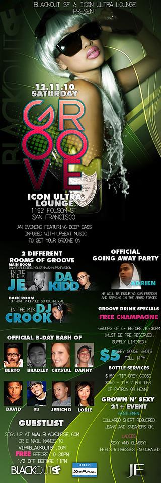 Groove @ Icon - 12.11.10