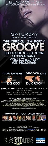 Groove @ Icon - 5.28.11