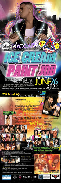 Ice Cream Paint Job @ Illusions - 6.26.09