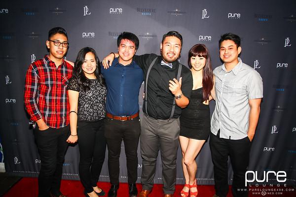 1/25 [DJ C-LA Live@Pure Lounge]