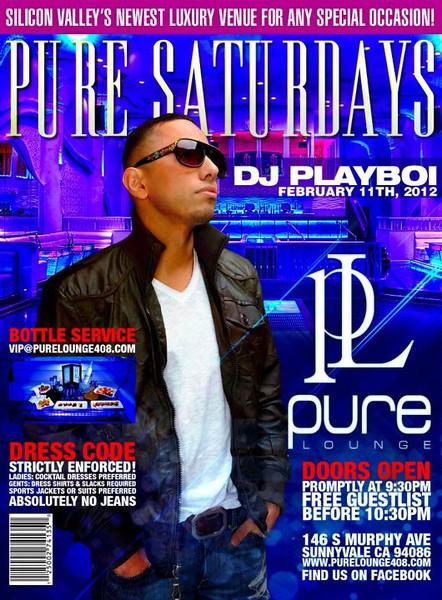 2/11 [DJ Playboi@Pure Lounge]