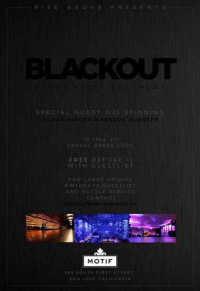 2/4 [Blackout!@Motif]