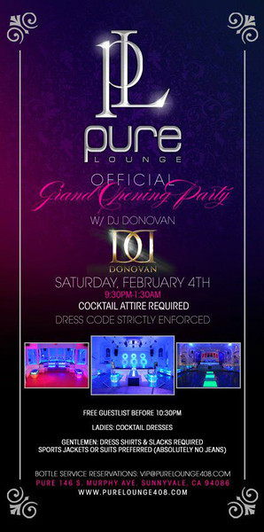 2/4 [Official Grand Opening@Pure Lounge]