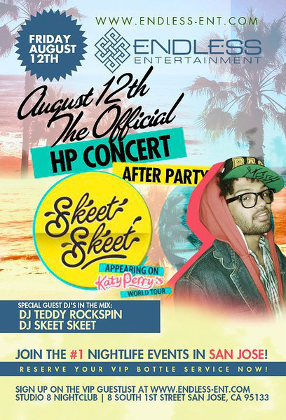 8/12 [The official HP after party@Studio 8]