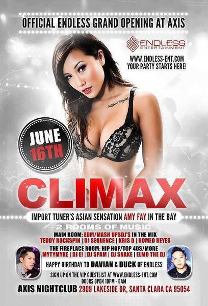 6/16 [Climax@Axis Nightclub]