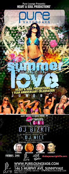 6/9 [Summer Love@Pure Lounge]