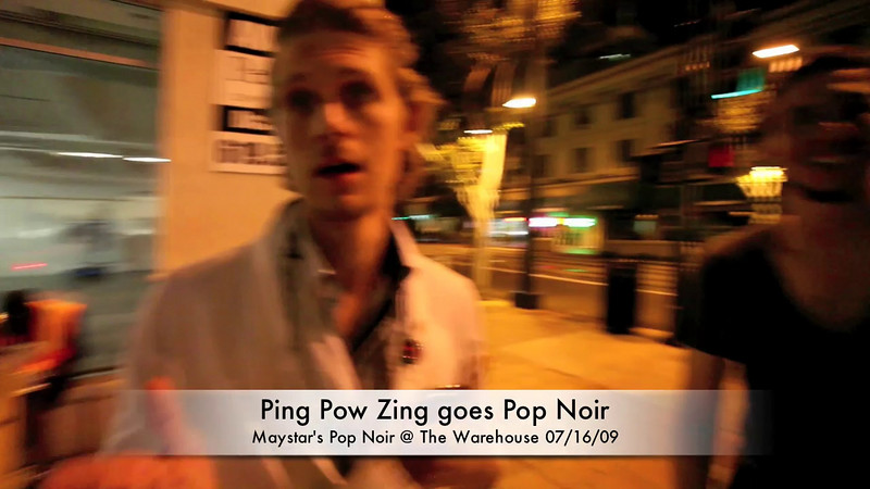 Ping Pow Zing goes Pop Noir