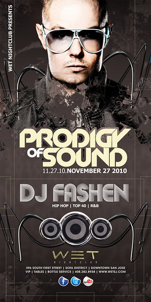 11/27 [Prodigy of sound@WET]