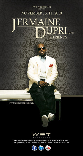 11/5 [Jermaine Dupri & Friends@WET]