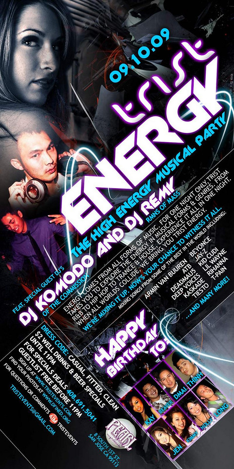9/10 [Trist Energy@Pearl]