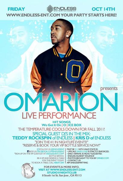 10/14 [Omarion Live@Studio 8]