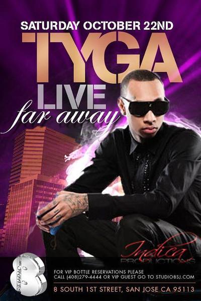10/22 [Tyga Live@Studio 8]