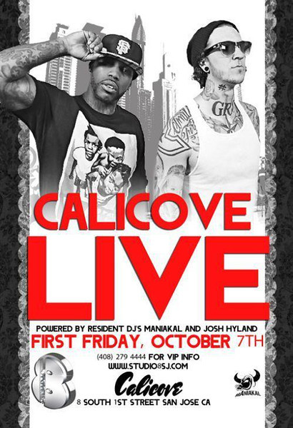 10/7 [Calicove Live @Studio 8]