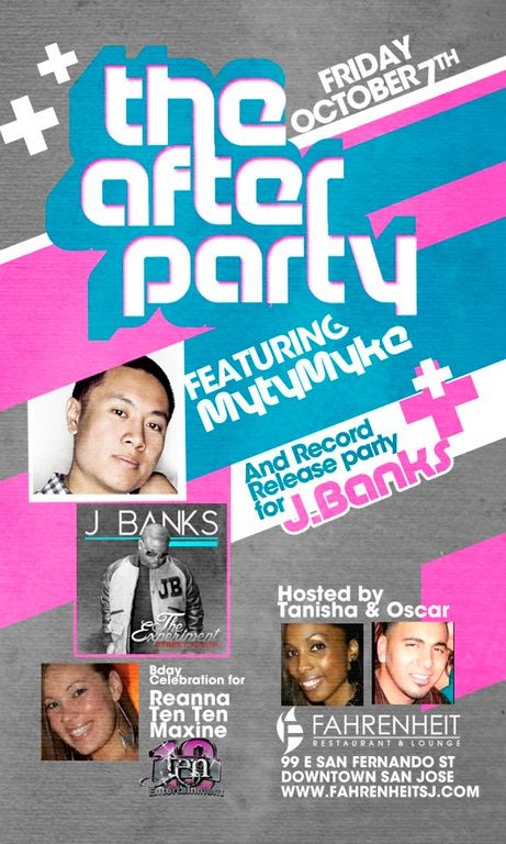 10/7 [The after party@Fahrenheit]