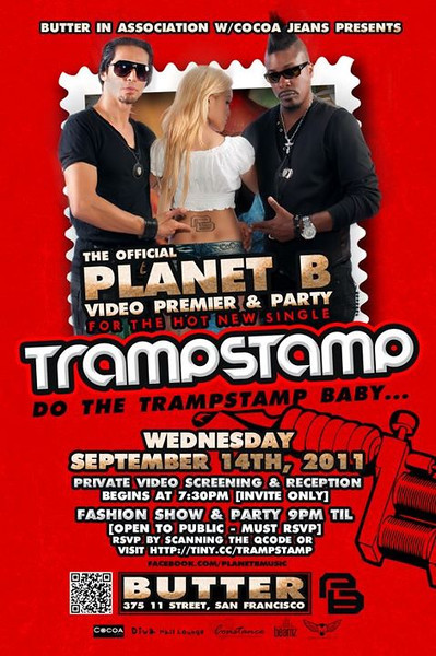 9/14 [Trampstamp@Butter]