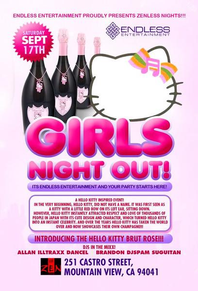 9/17 [Girls night out@zen lounge]