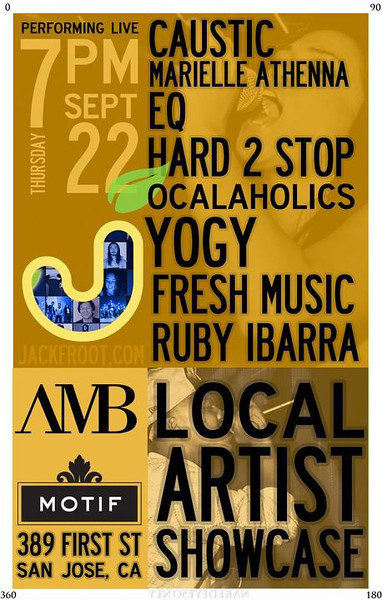 9/22 [local artist showcase@motif]