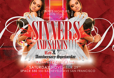 Sinners and Saints III @ Space 550 --- 11.29.08