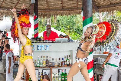 DJ Mr. Mike at Nikki Beach Club Phuket