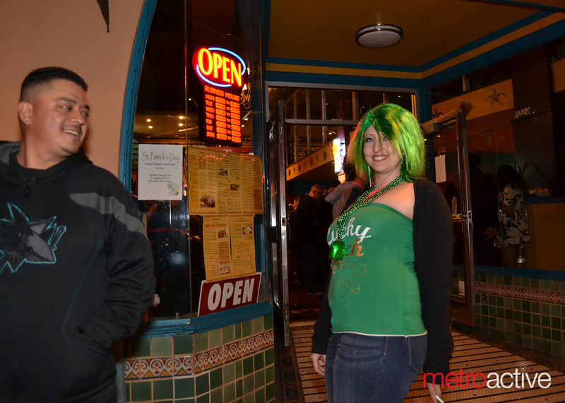 Outside of O'Flaherty's Irish Pub
