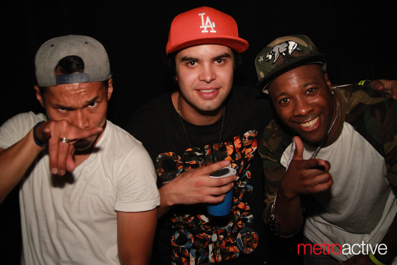 Back stage with Datsik and friends @ Sunrise 2013.  Images by: CJ