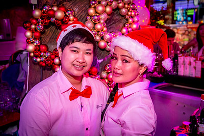 Christmas 2017 @ Blix Bar, Patong