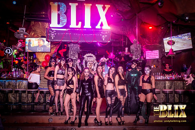 Halloween 2018 Blix Bar