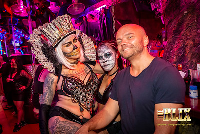 Halloween 2018 Blix Bar