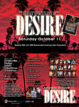 Desire @ Space 550 --- 10/11/08 [18 ]