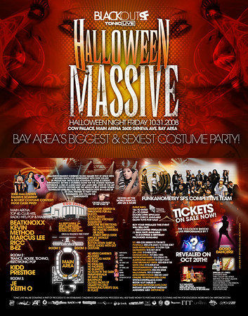 Halloween MASSIVE @ Cow Palace - 10.31.08