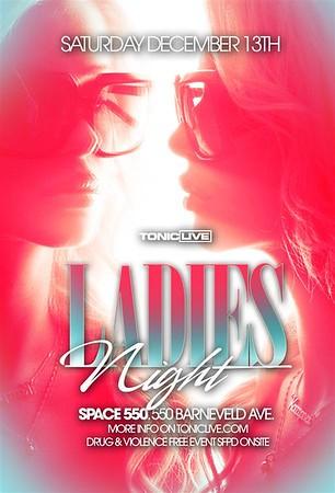 Ladies Night @ Space - 12.13.08