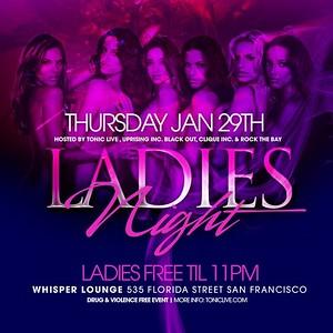 Ladies Night @ Whisper - 01.29.09