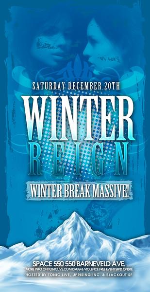 Winter Reign Massive @ Space 550 - 12.20.08