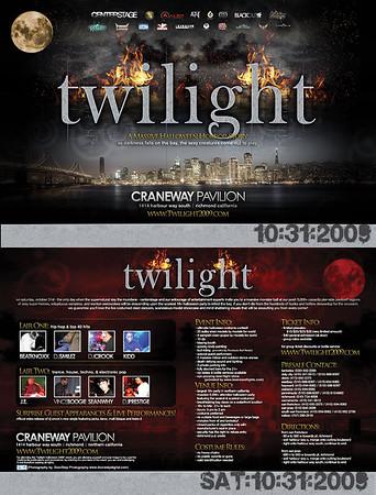 Twilight @ Craneway - 10.31.09