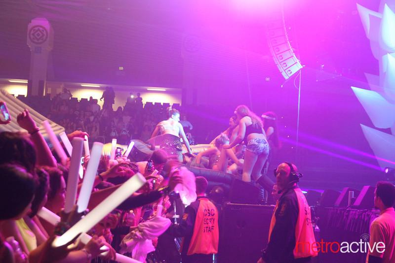 @ SJSU Event Center.  Images by: CJ Storm