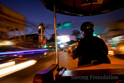 TukTuk Ride at Night