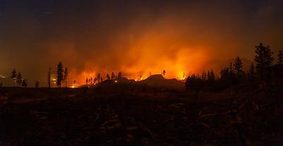 Glenfir Fire 2018 Panoramic