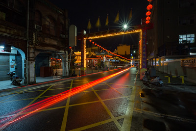 Hsinchu Light Trails