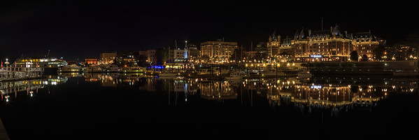 Victoria Inner Harbour Panoramic