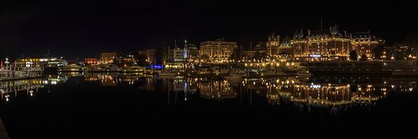 Victoria Inner Harbour Panoramic