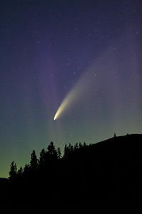 Comet Neowise and Lady Aurora 3