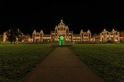 Legislature At Night
